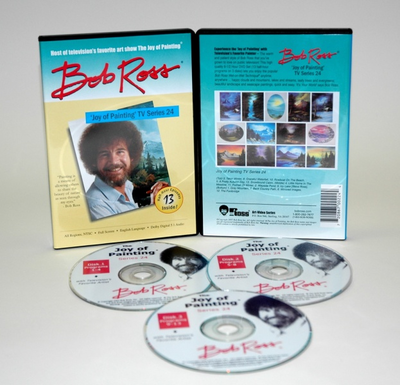 ROSS DVD JOY OF PAINTING SERIES 24. FEATURING 13 SHOWS - Click to enlarge