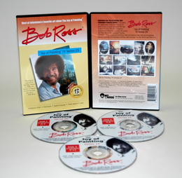 ROSS DVD JOY OF PAINTING SERIES 25. FEATURING 13 SHOWS - Click to enlarge