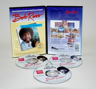 ROSS DVD JOY OF PAINTING SERIES 3. FEATURING 13 SHOWS - Click to enlarge