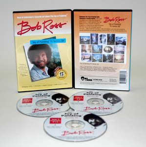 ROSS DVD JOY OF PAINTING SERIES 30. FEATURING 13 SHOWS - Click to enlarge