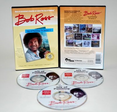 ROSS DVD JOY OF PAINTING SERIES 4. FEATURING 13 SHOWS - Click to enlarge