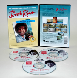 ROSS DVD JOY OF PAINTING SERIES 5. FEATURING 13 SHOWS - Click to enlarge