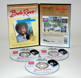 ROSS DVD JOY OF PAINTING SERIES 6. FEATURING 13 SHOWS - Click to enlarge
