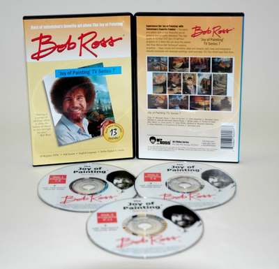ROSS DVD JOY OF PAINTING SERIES 7. FEATURING 13 SHOWS - Click to enlarge