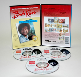 ROSS DVD JOY OF PAINTING SERIES 8. FEATURING 13 SHOWS - Click to enlarge