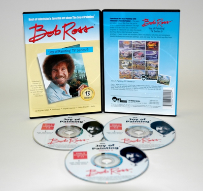 ROSS DVD JOY OF PAINTING SERIES 9. FEATURING 13 SHOWS - Click to enlarge