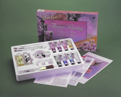 ROSS FLORAL PAINTING SET - Click to enlarge