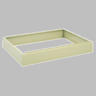 """SAFCO Closed 6"""" Base for Safco Flat Files (base only)"""