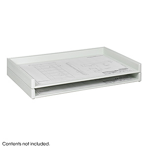 Safco Giant Stack Trays (2 Trays) - Click to enlarge