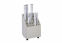 Safco Wood Mobile Roll File