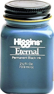 SANFORD HIGGINS ETERNAL INK BLACK BTL