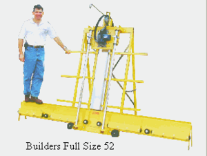 SAWTRAX Full Builder's Extension w/ steel roller sleeves