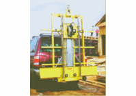 SAWTRAX Hitch Carrier for C52 Panel saw