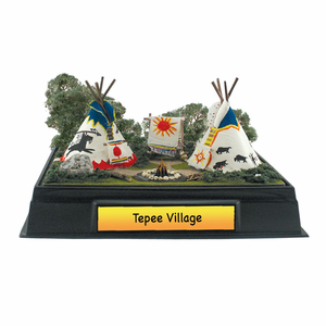 Scene-A-Rama Tepee Village Classroom Pack - Click to enlarge