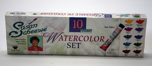 SCHEEWE 10 TUBE WATERCOLOR SET - Click to enlarge