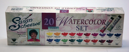 SCHEEWE 20 TUBE WATERCOLOR SET - Click to enlarge