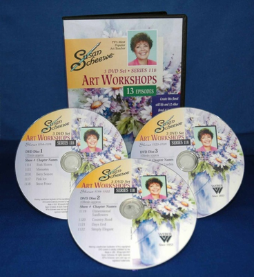 SCHEEWE ART WORKSHOP 3 DVD SET SERIES 11B--13 EPISODES - Click to enlarge