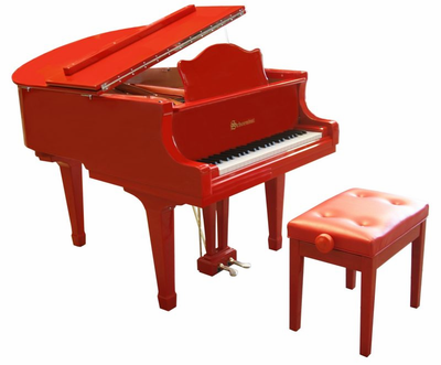 Schoenhut 49 Key Pro Baby Grand - Click to enlarge