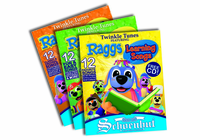 SCHOENHUT Raggs Book Set