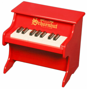 Schoenhut Tabletop�Pianos - 18�Key�My�First�Piano - Click to enlarge