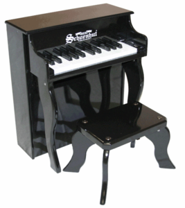 Schoenhut Upright�Pianos - 25�Key�Elite�Spinet - Click to enlarge