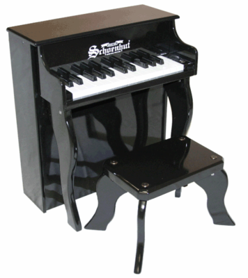 Schoenhut Upright�Pianos - 25�Key�Elite�Spinet 2505 - Click to enlarge