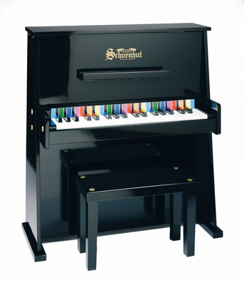 Schoenhut 3798 Upright�Pianos - 37�Key�Day�Care�Durable - Click to enlarge