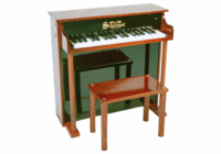 Schoenhut 6637 Upright Pianos - 37 Key Traditional Deluxe Spin