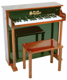 Schoenhut Upright�Pianos - 37�Key�Traditional�Deluxe�Spin - Click to enlarge