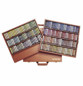 SENNELIER SOFT PASTEL LUXURY WOOD BOX SET OF 175