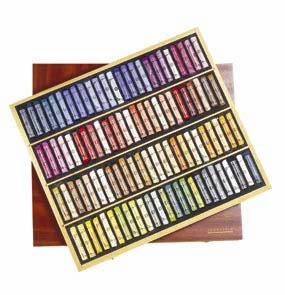 SENNELIER SOFT PASTEL PORTRAIT LUXURY WOOD BOX SET OF 100