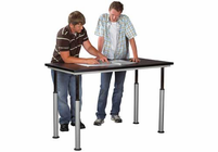"SHAIN SOLUTIONS Adaptable Table w/Laminate Top 60""x30""  (Quick Ship)"