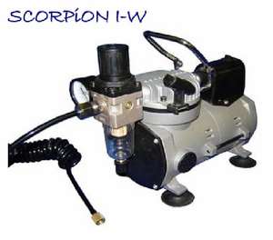 Silentaire Scorpion I-W Ultra-Quiet Compressor
