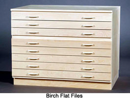 "SMI Unfinished Birch Plan Flat File 36""x48"" Complete"