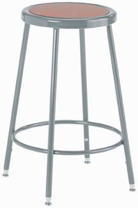 "Steel Stool � 24"" High"