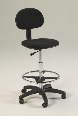 Stiletto DRAFTING-Height Chair Seating (in Black or Red)