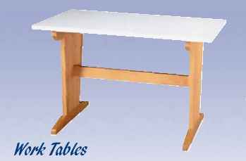 """Student Work Table - 48"""" - Maple"""