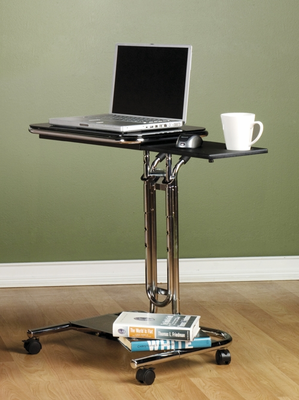 Studio Designs Calico Laptop Cart with Mouse Pad - Click to enlarge