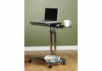 Studio Designs Calico Laptop Cart with Mouse Pad