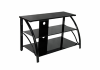 STUDIO DESIGNS / CALICO Stiletto TV Stand / Black / Black