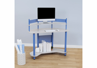 STUDIO DESIGNS / CALICO Study Corner Desk Blue