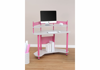 STUDIO DESIGNS / CALICO Study Corner Desk Pink