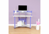 STUDIO DESIGNS / CALICO Study Corner Desk Purple