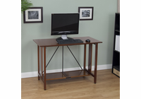 Studio Designs MADERA FOLDING DESK (WALNUT/BLACK)