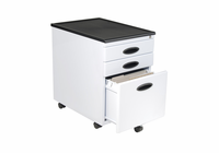 Studio Designs MOBILE FILE CABINET (WHITE/BLACK)