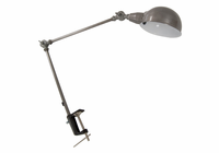STUDIO DESIGNS Retro Lamp / Brushed Steel-13W CFL Bulb Included