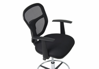 STUDIO DESIGNS Riviera Drafting Chair / Black