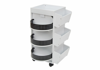 STUDIO DESIGNS Swivel Organizer / White / Black