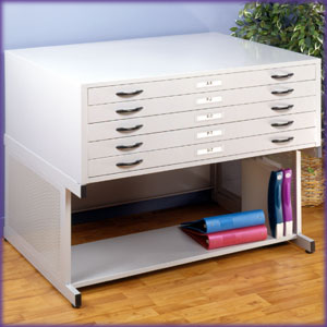 Studio RTA Flat Files  (Light Grey) - Click to enlarge