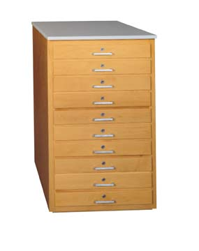 Taboret - 10 drawers